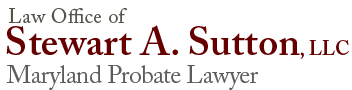 Maryland Probate Law Firm